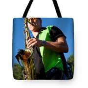 Cliff Miller of the Fabulous Kingpins Tote Bag by David Patterson