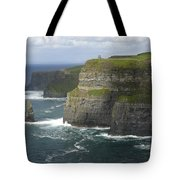 Cliffs Of Moher 2 Tote Bag by Mike McGlothlen