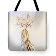 climb to the top Tote Bag by Daniel Dubinsky