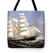 Clipper Ship Three Brothers Tote Bag by War Is Hell Store