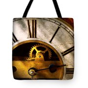 Clockmaker - What Time Is It Tote Bag by Mike Savad