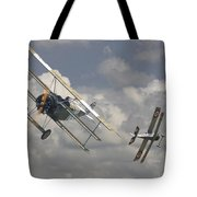 Close Encounter Tote Bag by Pat Speirs