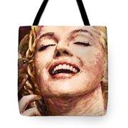 Close Up Beautifully Happy Tote Bag by Atiketta Sangasaeng