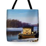 Closed For The Season Tote Bag by Christi Kraft