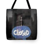 Closed Sleep Tight Tote Bag by Scott Norris