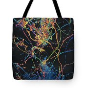 Coalescence Tote Bag by James W Johnson