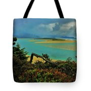 Coastal Storm Tote Bag by Benjamin Yeager