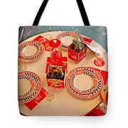 Coca-cola Diner  Tote Bag by Chris Berry