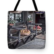 Coffe Shop Cafe Tote Bag by Heather Applegate