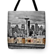 Coffee Capital Tote Bag by Benjamin Yeager