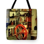Coffee Grinder And Canister Of Sugar Tote Bag by Susan Savad