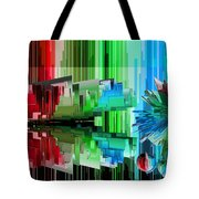 Cognitive Dissonance 3 Tote Bag by Angelina Vick