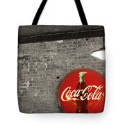 Coke Cola Sign Tote Bag by Paulette B Wright
