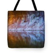 Cold Fire Tote Bag by Peter Coskun