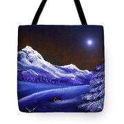 Cold Night Tote Bag by Anastasiya Malakhova