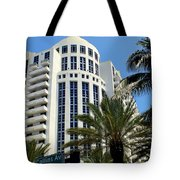Collins Ave Tote Bag by Karen Wiles
