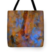 Color Abstraction XVIII Tote Bag by David Gordon