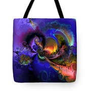 Color Gone Amok Tote Bag by Claude McCoy