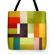 Color Study Abstract 10.0 Tote Bag by Michelle Calkins