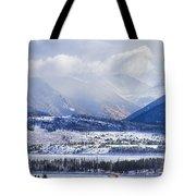 Colorado Rocky Mountain Autumn Storm Tote Bag by James BO  Insogna