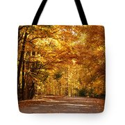 Colorful Canopy Tote Bag by Sandy Keeton