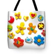 Colorful Cookies Tote Bag by Carlos Caetano