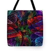 Colorful Leaves Tote Bag by Klara Acel