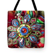 Colorful Ornaments Tote Bag by Garry Gay