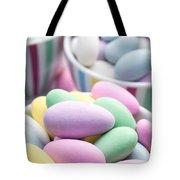 Colorful pastel jordan almond candy Tote Bag by Edward Fielding