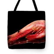 Colorful Shrimp Tote Bag by Toppart Sweden