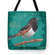 Colorful Songbirds 3 Tote Bag by Debbie DeWitt