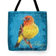 Colorful Songbirds 4 Tote Bag by Debbie DeWitt