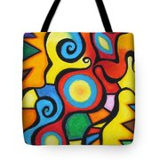Colorful Tote Bag by Sven Fischer