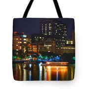Colors On The Charles Tote Bag by Joann Vitali