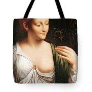 Columbine Tote Bag by Leonardo da Vinci
