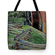 Colvin Run Mill Tote Bag by Suzanne Stout