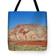 Comb Ridge Utah near Mexican Hat Tote Bag by Christine Till