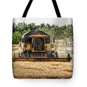 Combine Harvester Tote Bag by Georgia Fowler