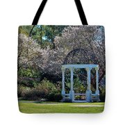 Come Into The Garden Tote Bag by Cynthia Guinn