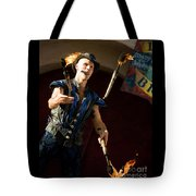 Comedy Juggling Tote Bag by Mary AD Art