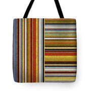 Comfortable Stripes lX Tote Bag by Michelle Calkins