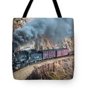 Coming Around The Corner Tote Bag by Inge Johnsson