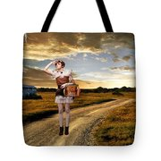 Coming Home Tote Bag by Ester  Rogers