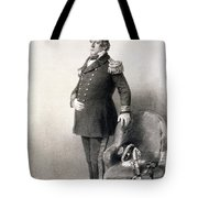 Commodore Matthew Calbraith Perry Tote Bag by Wilhelm Heine