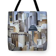 Composition Looking East Tote Bag by Catherine Abel