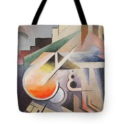 Composition Tote Bag by Viking Eggeling