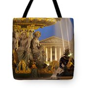 Concorde Fountain Tote Bag by Brian Jannsen