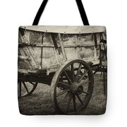 Conestoga Wagon Tote Bag by Paul W Faust -  Impressions of Light