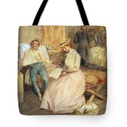 CONFEDERATE HOSPITAL, 1861 Tote Bag by Granger