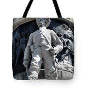 Confederate Soldier II Alabama State Capitol Tote Bag by Lesa Fine